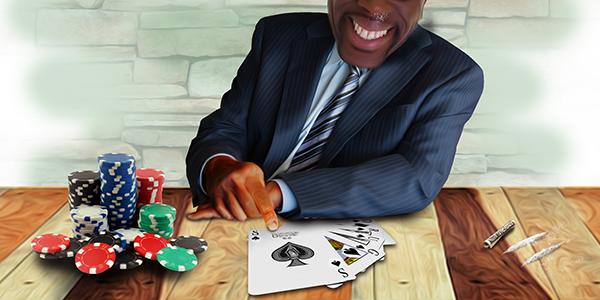 Politics of poker