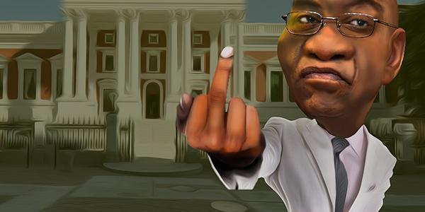 The Zuma finger