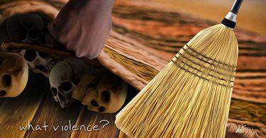 Violence swept under rug