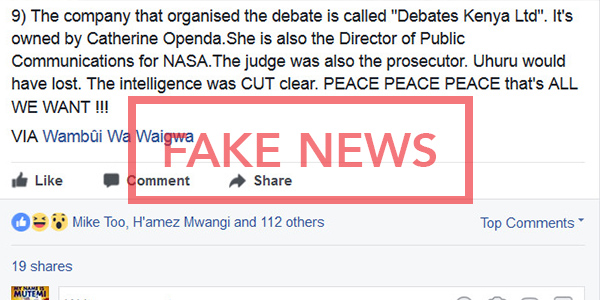 Debates Kenya
