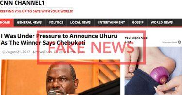 Fake Chebukati Statement