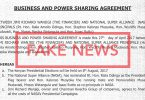 Fake Power Sharing Agreement