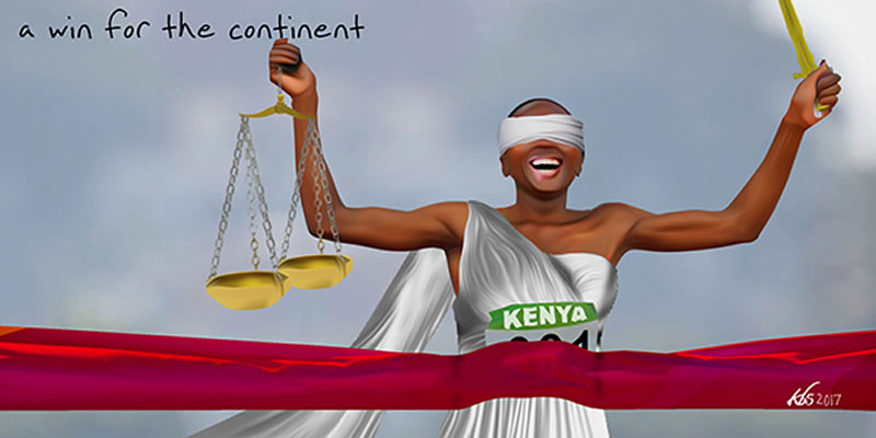 Judicial win for Africa