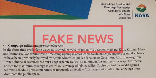 Fake Letter from NASA's Ndii