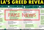 Fake Raila Greed Campaign