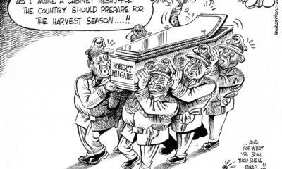 Mugabe Reshuffles the Cabinet!