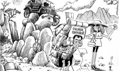 Macron in Africa