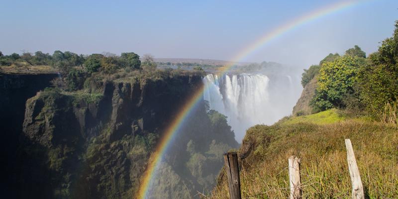 Victoria Falls by Benjamin Hollis