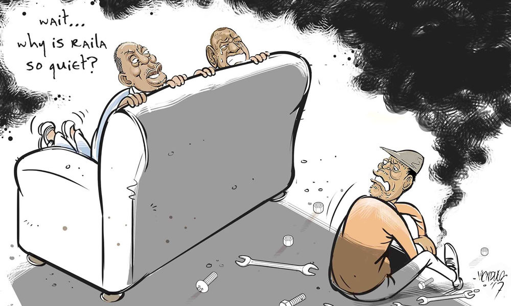 The unsettling feeling when Raila Odinga is too quiet