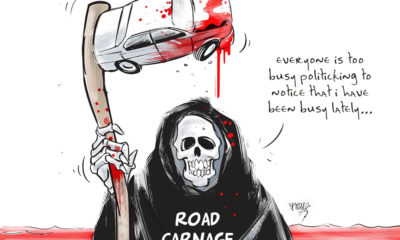 High death tolls on our roads and its business as usual