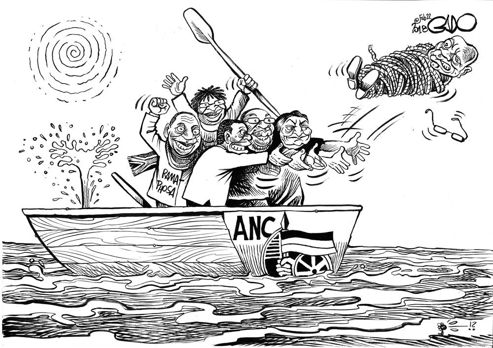 Zuma, Ramaphosa and the ANC