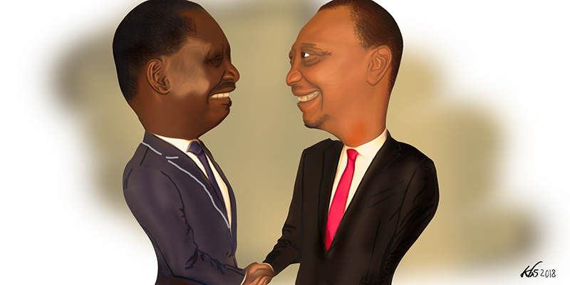 shaking hands with the devil kenyans views on the raila uhuru pact
