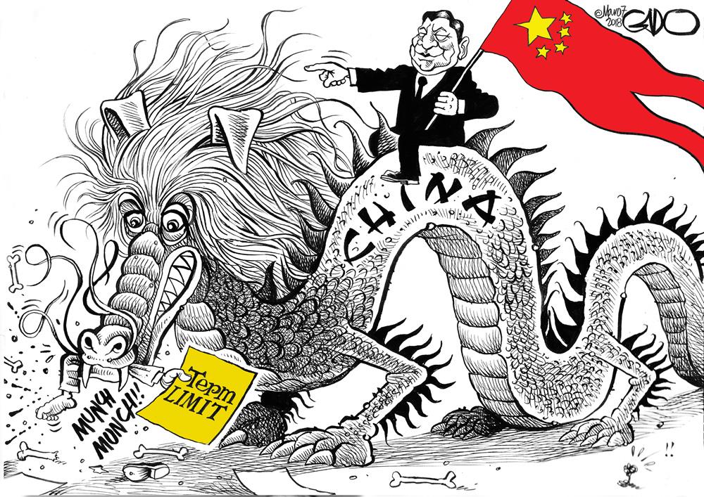 China (Xi) Eliminates Term Limits