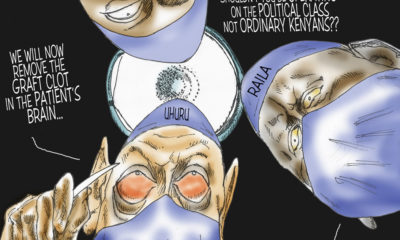 Raila-Uhuru in Operating Theatre