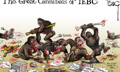 The Great Cannibals of IEBC