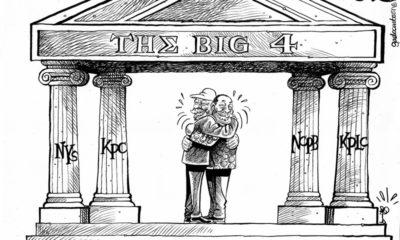 The big four pillars
