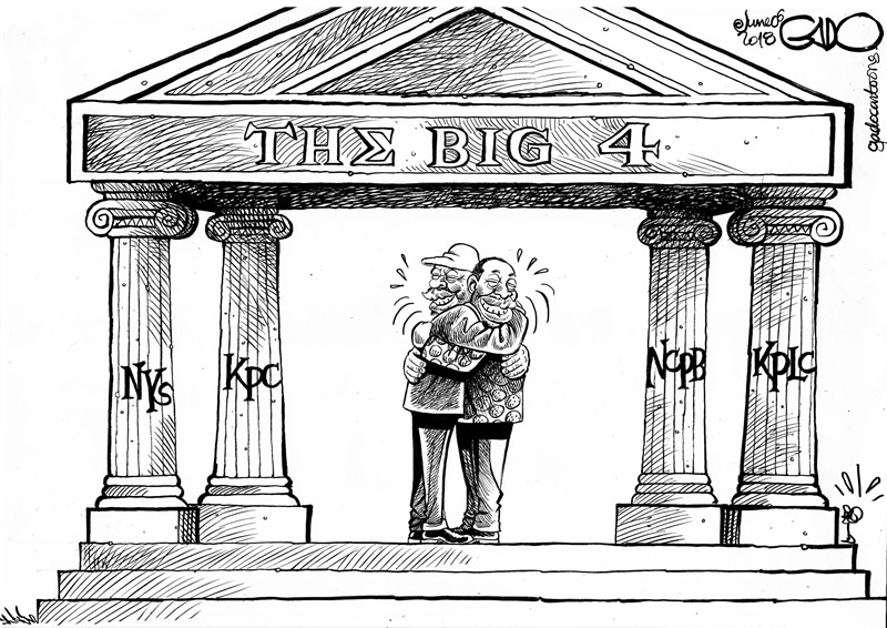 The big four pillars