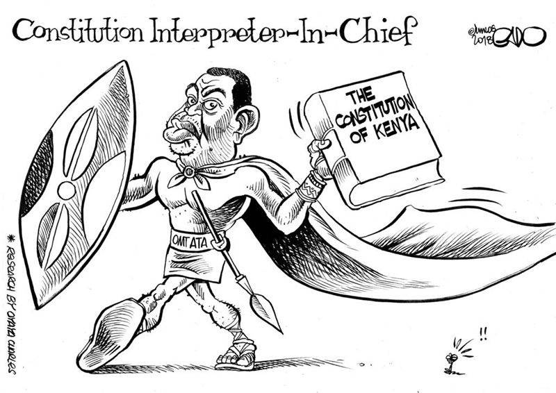 Constitution Interpreter in Chief