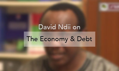 John-Allan Namu and David Ndii on the Economy and Debt