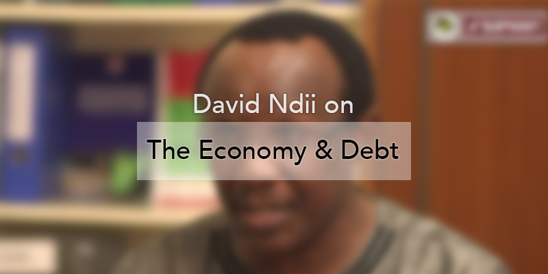 John-Allan Namu and David Ndii on the Economy and Debt