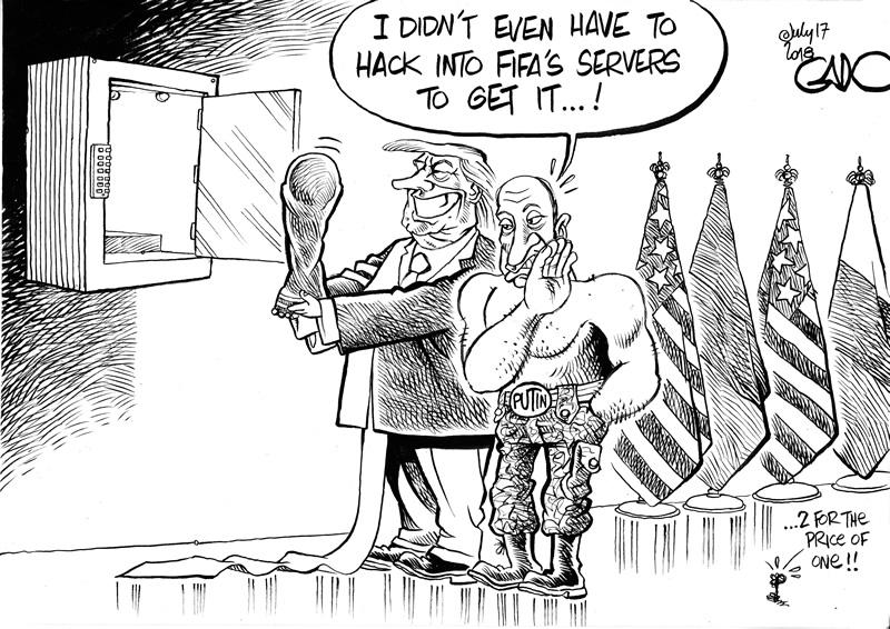 Putin Trump and WC