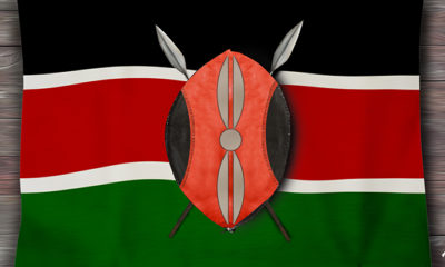 BLACK, RED AND GREEN: The story behind theKenyan flag