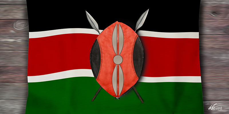BLACK, RED AND GREEN: The story behind the Kenyan flag