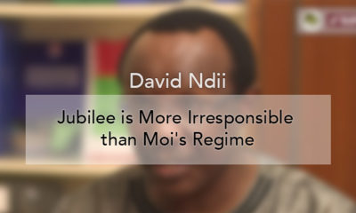 Jubilee is More Irresponsible than Moi's Regime