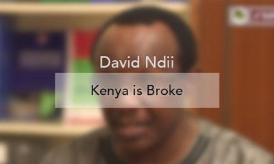 David Ndii: Kenya is Broke