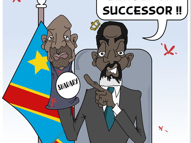 Kabila's Right Hand Man