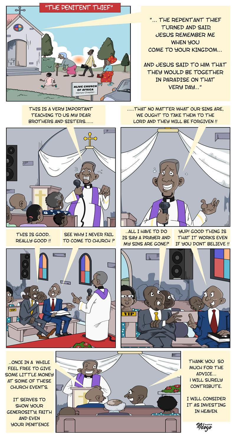A Predatory Theology!