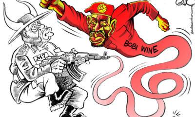 M7 Vs Bobi Wine - Getting A Taste Of His Own Medicine!