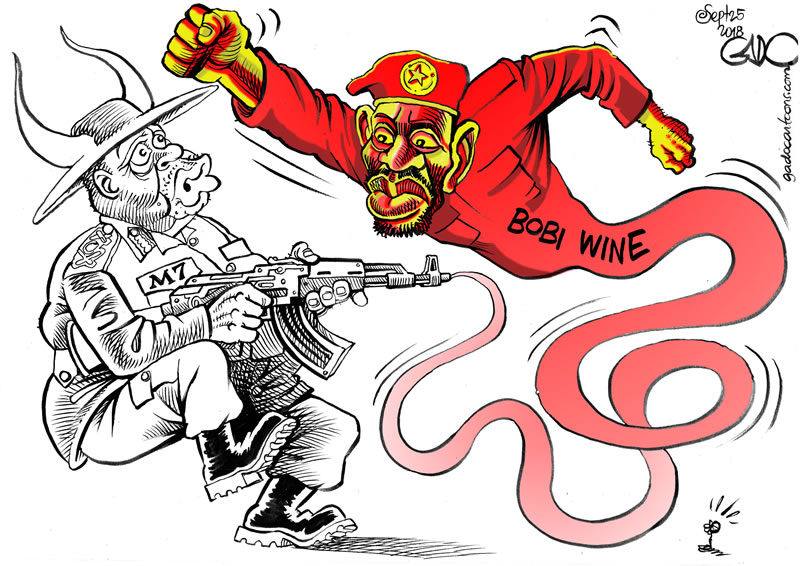 M7 Vs Bobi Wine - Getting A Taste Of His Own Medicine!