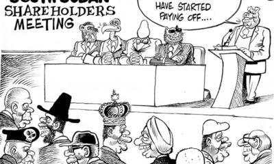 South Sudan Shareholders