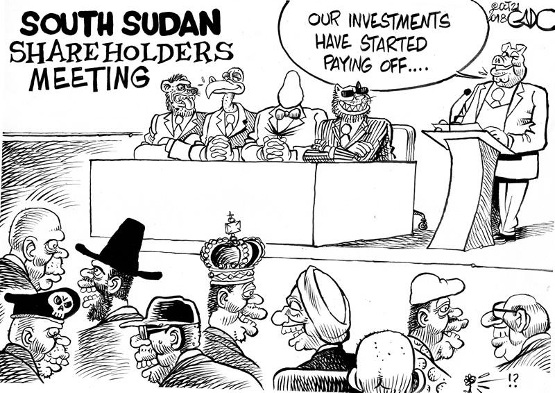 South Sudan Shareholders