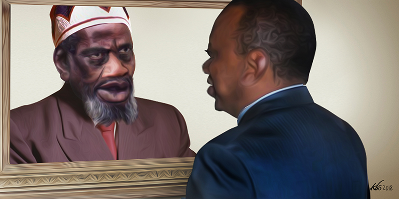MAN IN THE MIRROR: Echoes of Jomo in Uhuru