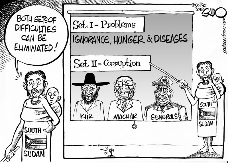 South Sudan's Difficulties