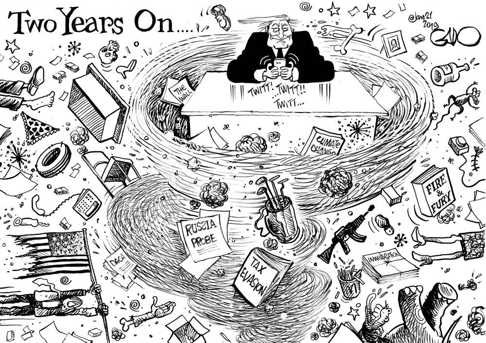 Trump - 2 Years On!