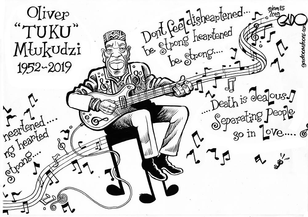 RiP - Oliver TUKU Mtukudzi