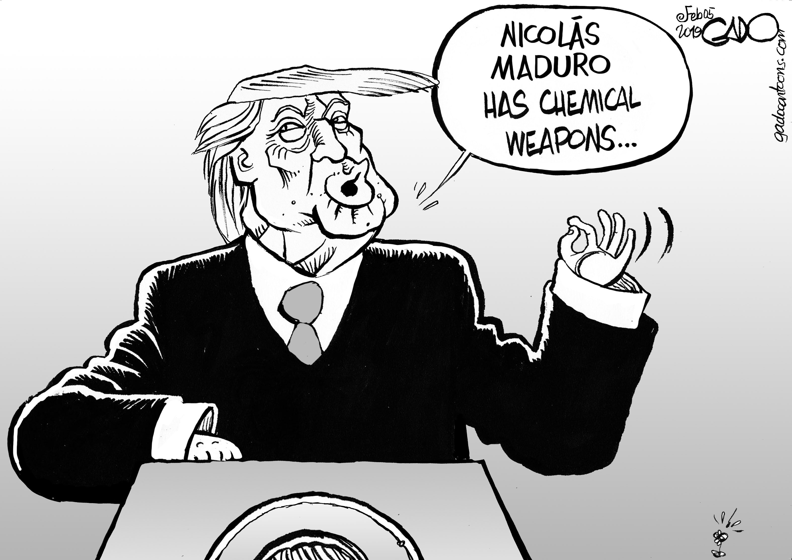 Maduro Has Chemical Weapons!