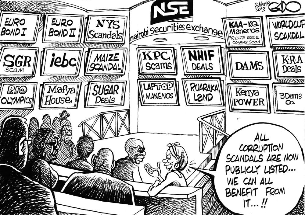Corruption Scandal!
