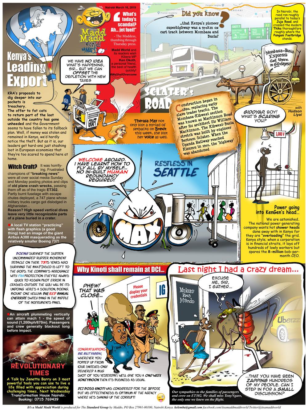 Kenya's Leading Exports!