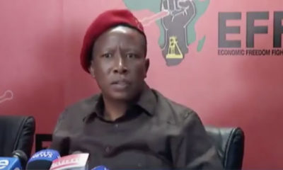 Julius Malema on Xenophobia in South Africa