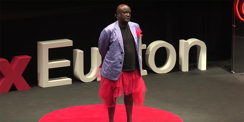 Binyavanga at TEDx: Conversations with Baba