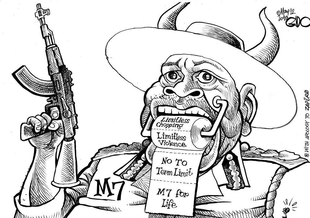 Museveni in Uganda!