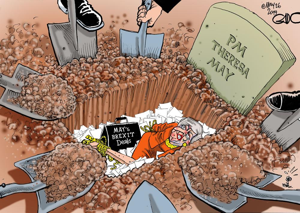 Burying May alive!