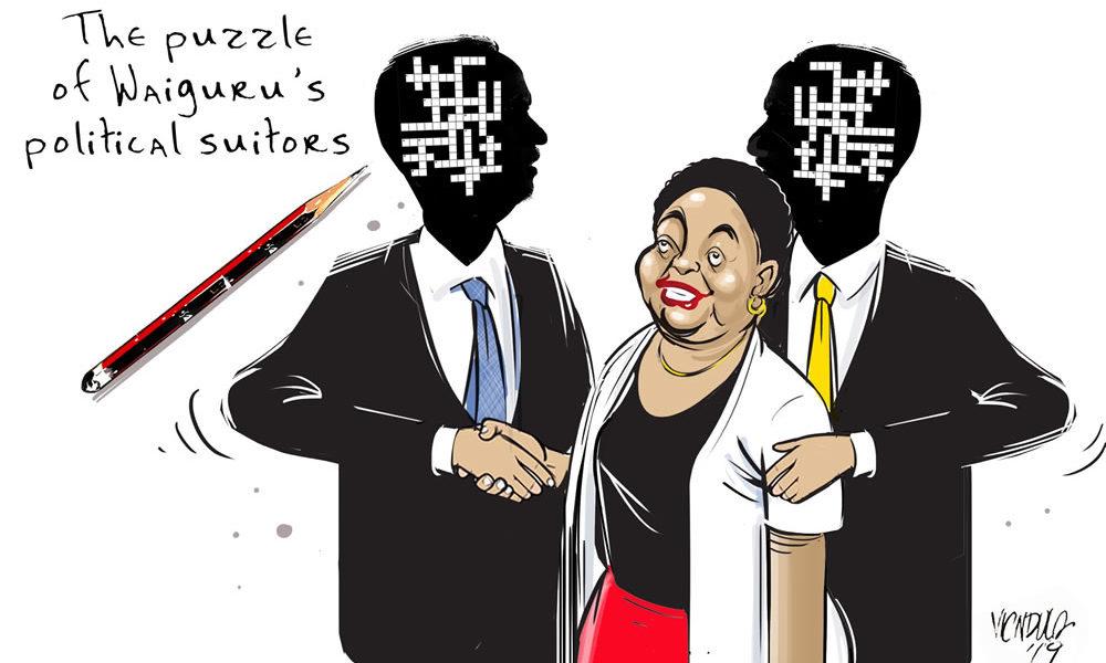 The Puzzle of Waiguru's Political Suitors
