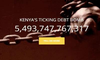 Kenya's Debt Clock