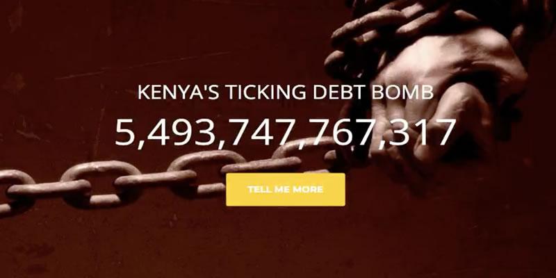 Kenya's Ticking Debt Bomb