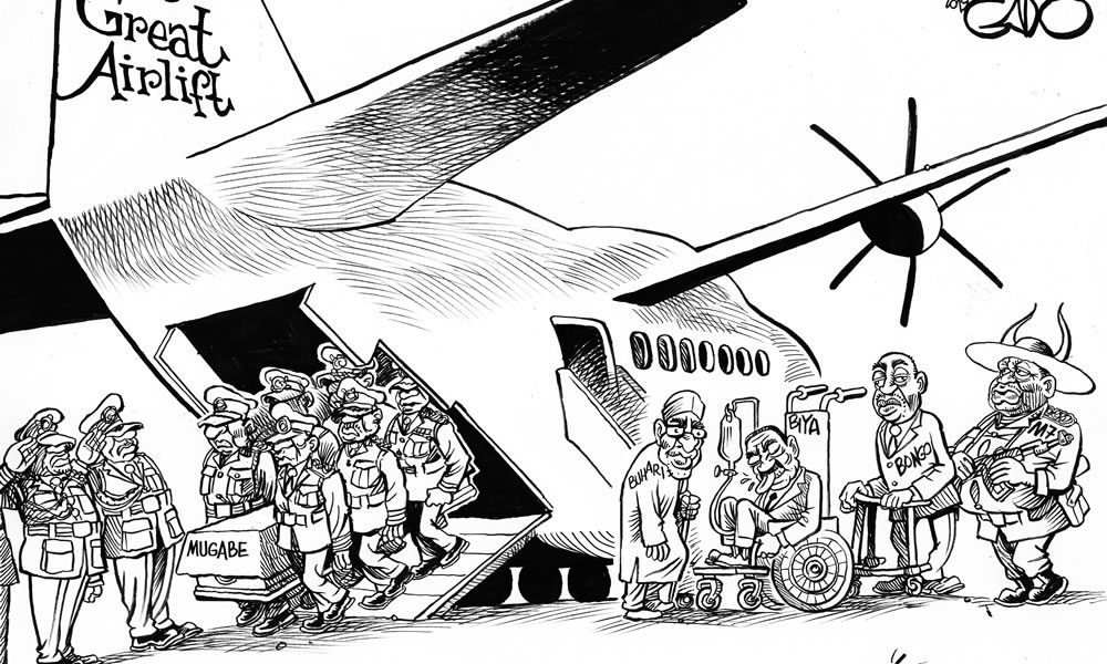 Out Goes Mugabe, In with Biya, Bongo, Buhari, Museveni, et al
